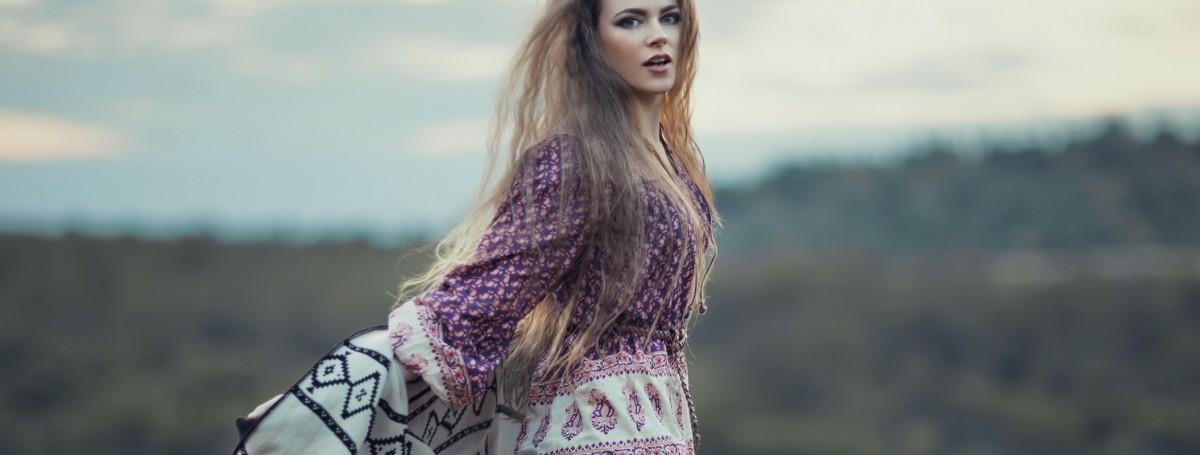 Boho we włosach potargał wiatr – BaBylis-totallook.pl