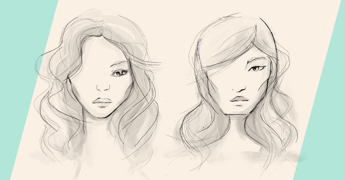 Kształt brwi a kształt twarzy: twarz okrągła, twarz trójkątna – BaByliss-totallok.pl